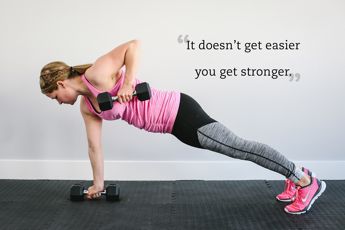 "Interested in strength training at home but unsure where to start? Check out ""A Beginner's Guide to Strength Training at Home"" for 5 tips on safe, effective weight training and a 30-minute total body workout you can do today!"