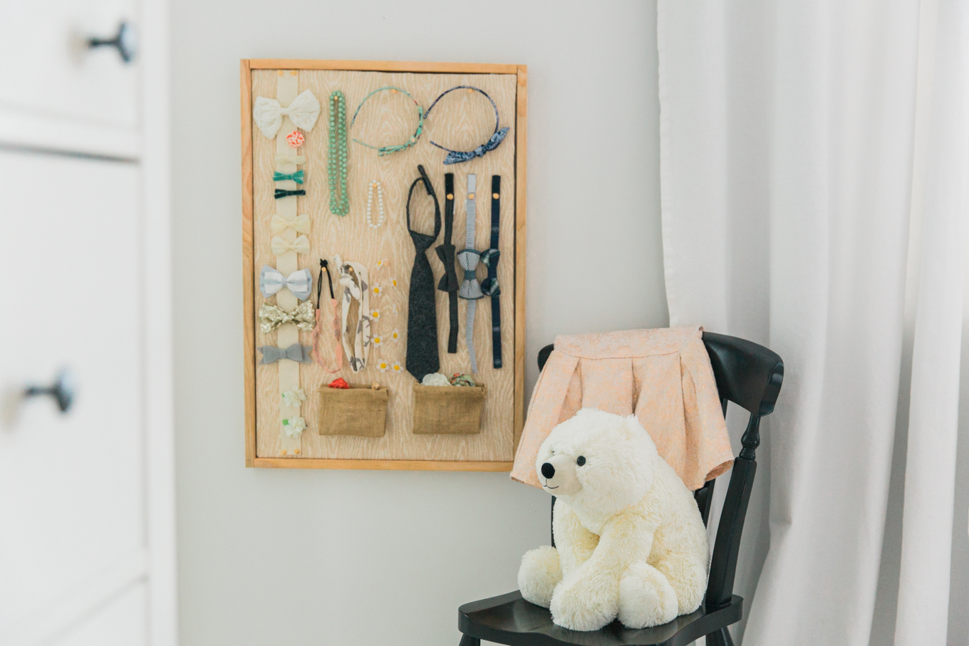 Easy DIY - Children's Accessory Board