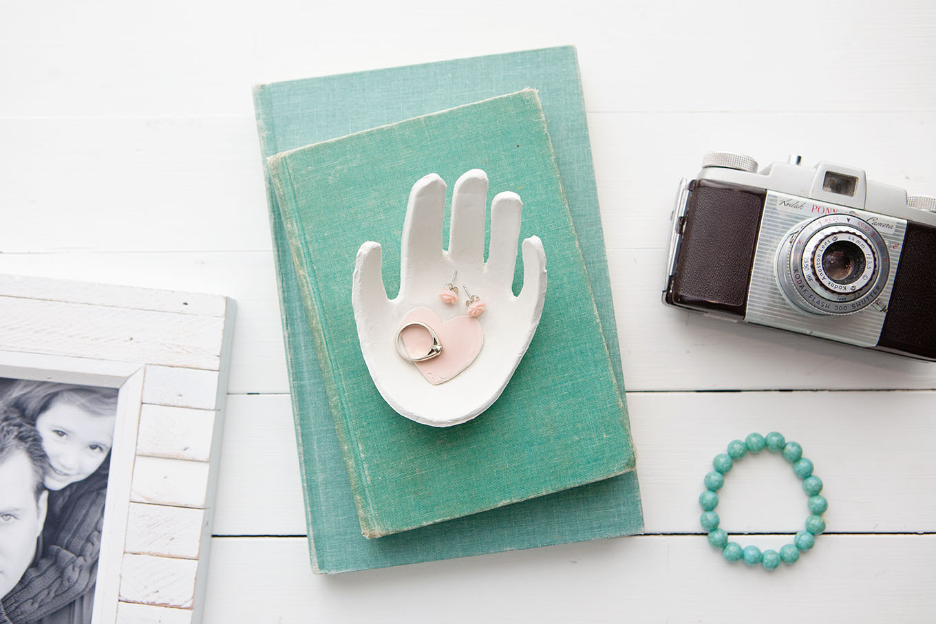Child S Handprint Clay Jewelry Dish