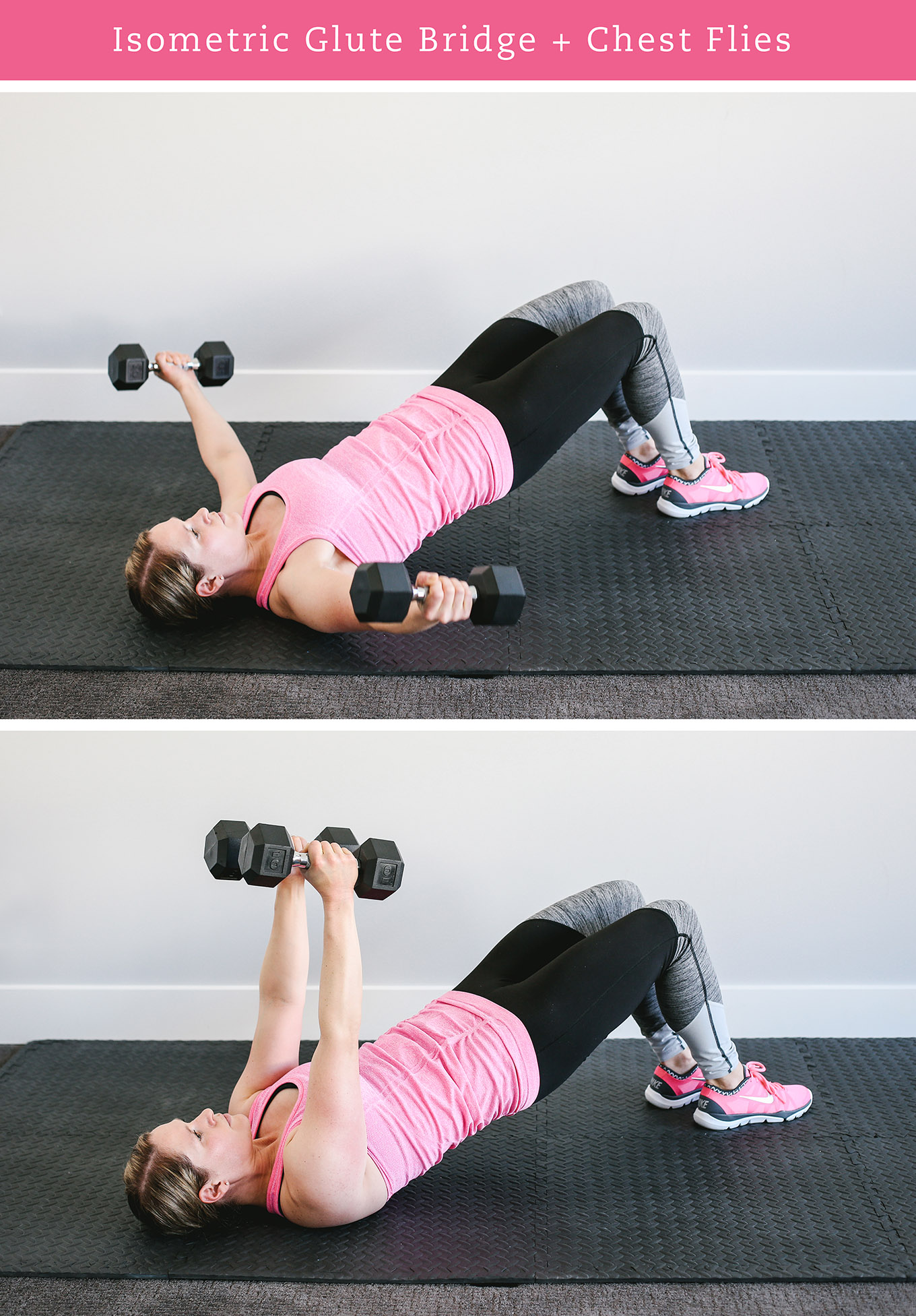 """Interested in fitness training at home but unsure where to start? Check out """"A Beginner's Guide to Strength Training at Home"""" for 5 tips on safe, effective weight training and a 30-minute total body workout you can do today!"""