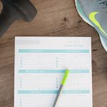 "Become a Healthier ""You"" with this Free Fitness Planner Printable"