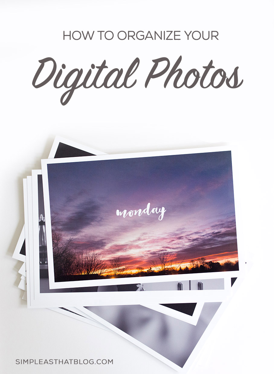 How to set up a simple system for organizing your digital photo collection.