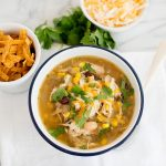 Instant Pot Green Chicken Chili