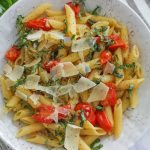 One Pot Tomato Basil Pasta