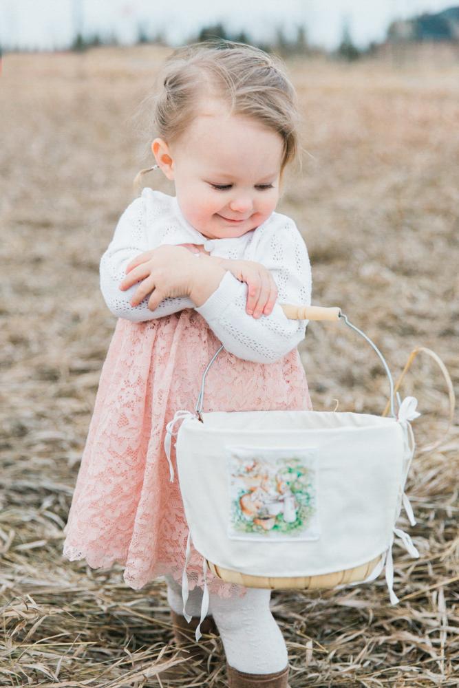 Easter Basket Covers Tutorial