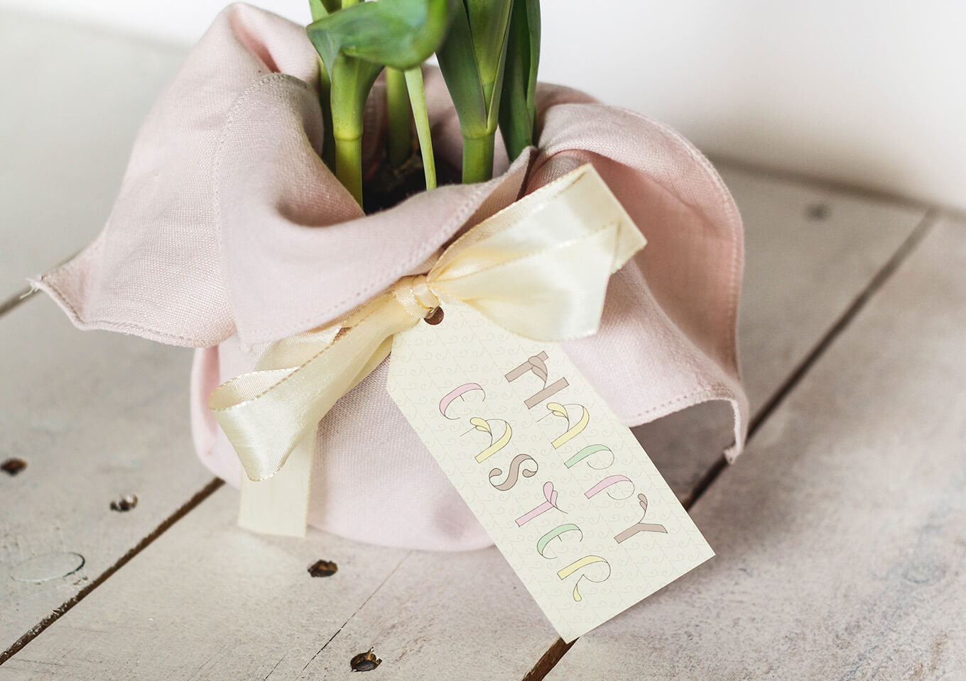 How to create a super quick last minute easter hostess gift for Hostess gifts that travel well