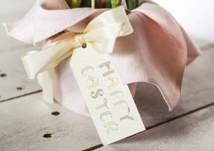 beautiful easter tag freebie for your hostess gift