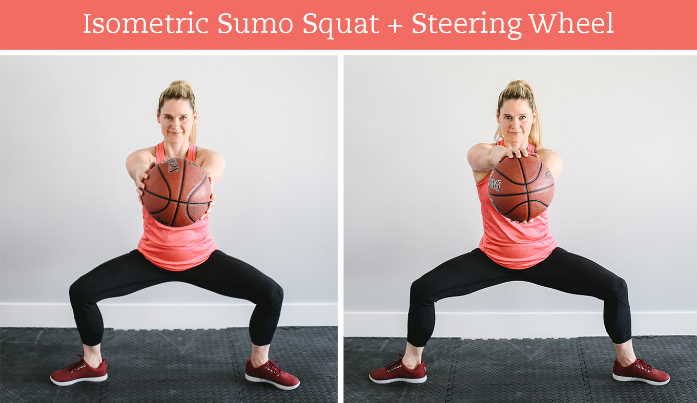 March Madness is right around the corner. Even if you're not a fan, you can still win big with this 30-minute basketball workout that challenges your stability, balance, and coordination.