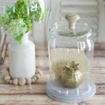 DIY Glass Display Cloche with Knob