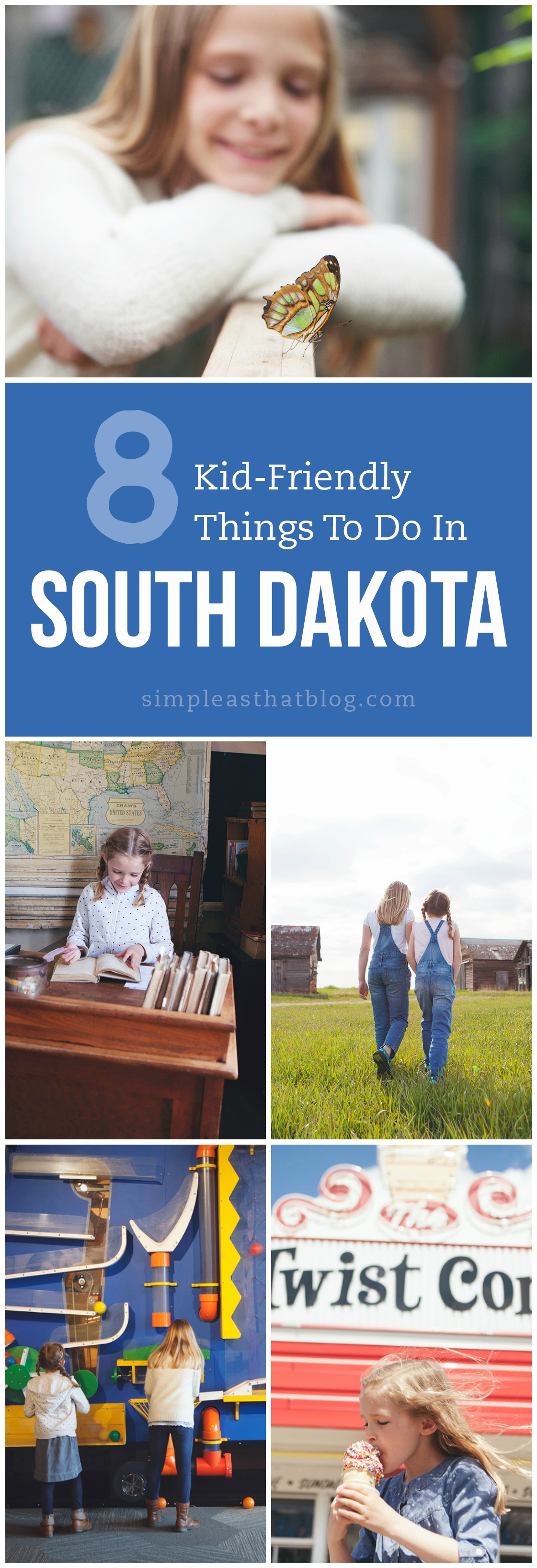 Local travel is fun and affordable! If you're in the area, South Dakota has so much to offer. Here are 8 kid-friendly destinations for your South Dakota road trip.