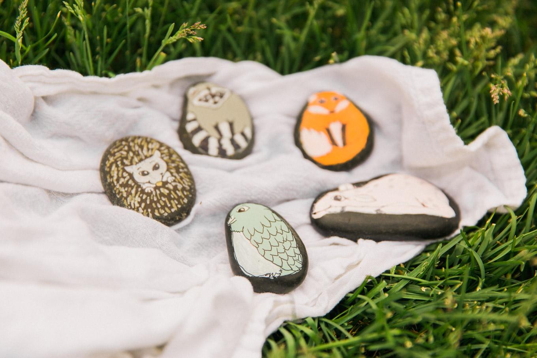 Woodland Creature Pet Rocks Tutorial
