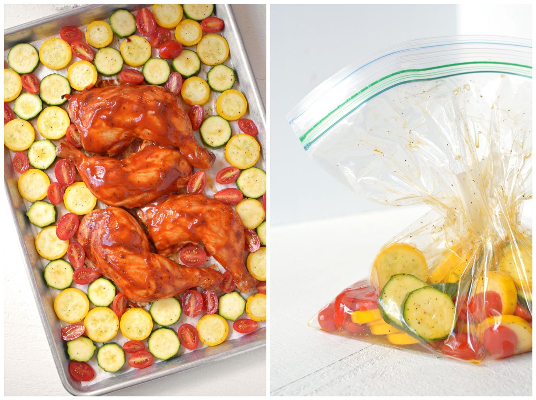 How to Make Sheet Pan BBQ Chicken