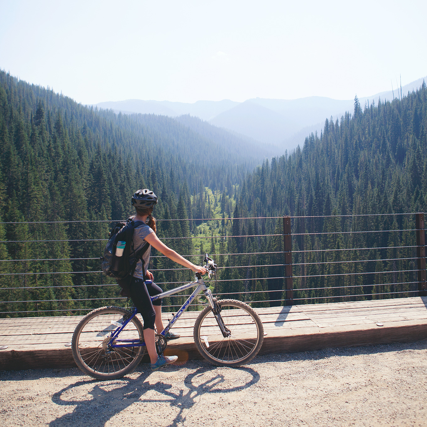 This 15-mile, downhill rail-to-trail conversion is an unforgettable activity that the whole family will enjoy! Here's everything you need to know about the Route of the Hiawatha mountain bike trail.