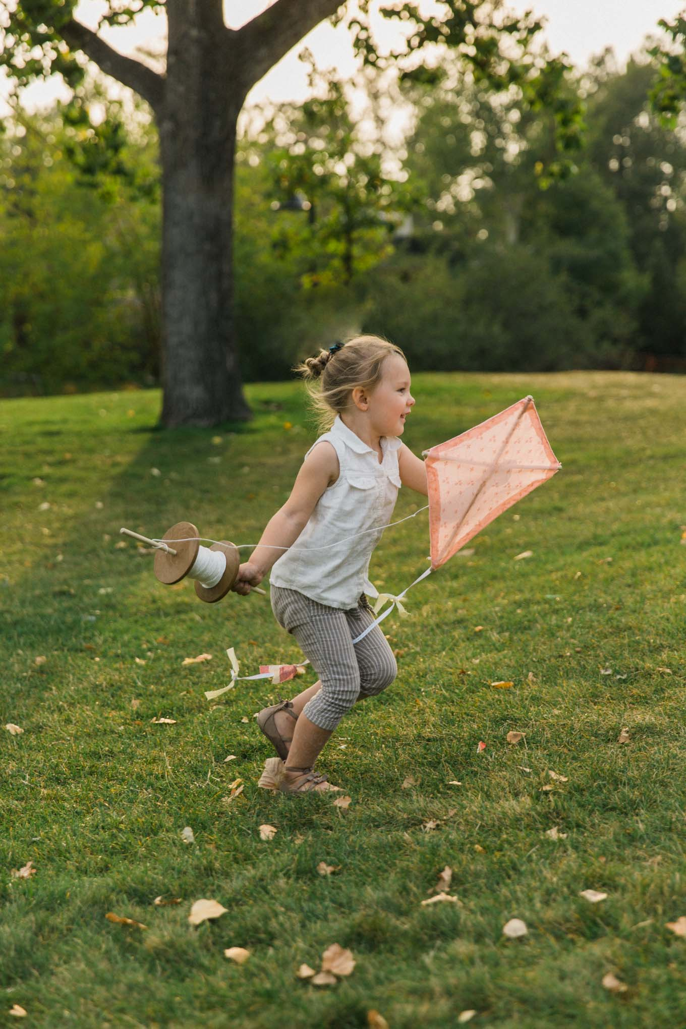 This DIY old fashioned kite is not only a great craft to do with your kids, young and old, it also turns into a memorable activity.