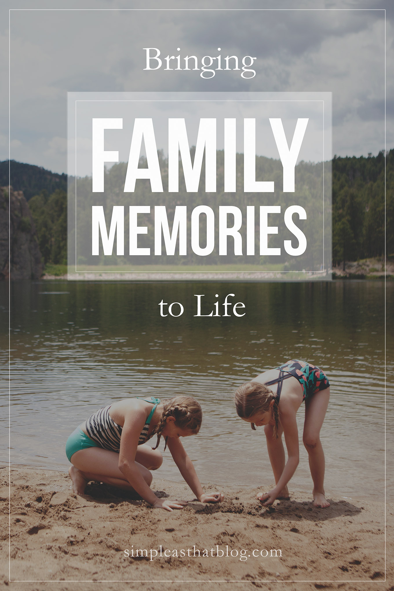 If your family memories were important enough for you to record them, why not take the next step? Free them from your phone or hard drive, and share the stories that are waiting to be told!