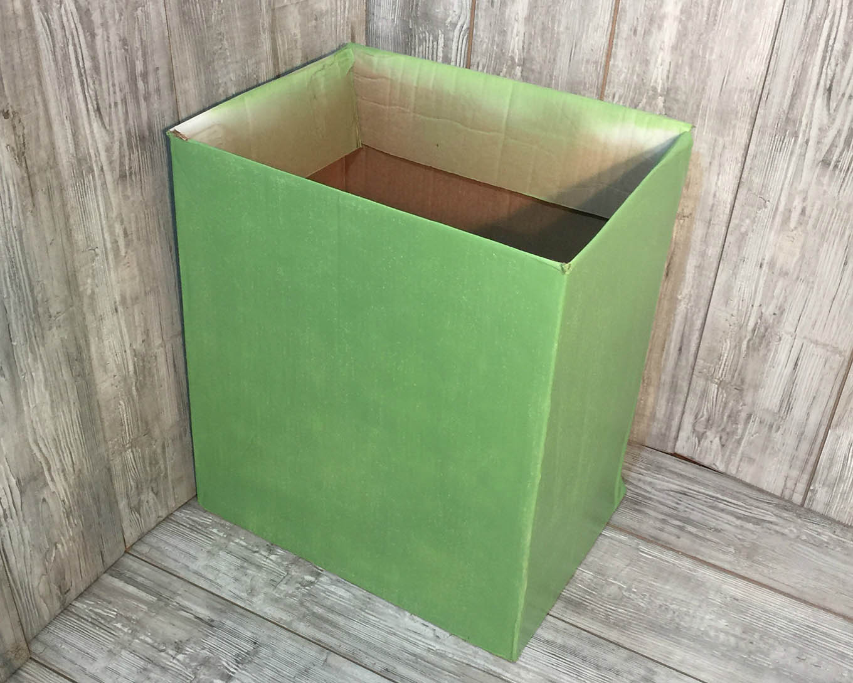 AmazonFresh DIY Cardboard Box Costume.