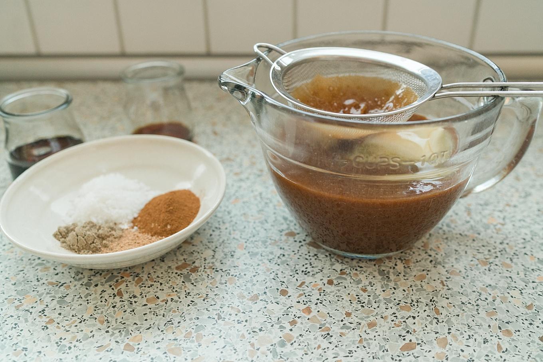 Salted Spiced Caramel Sauce