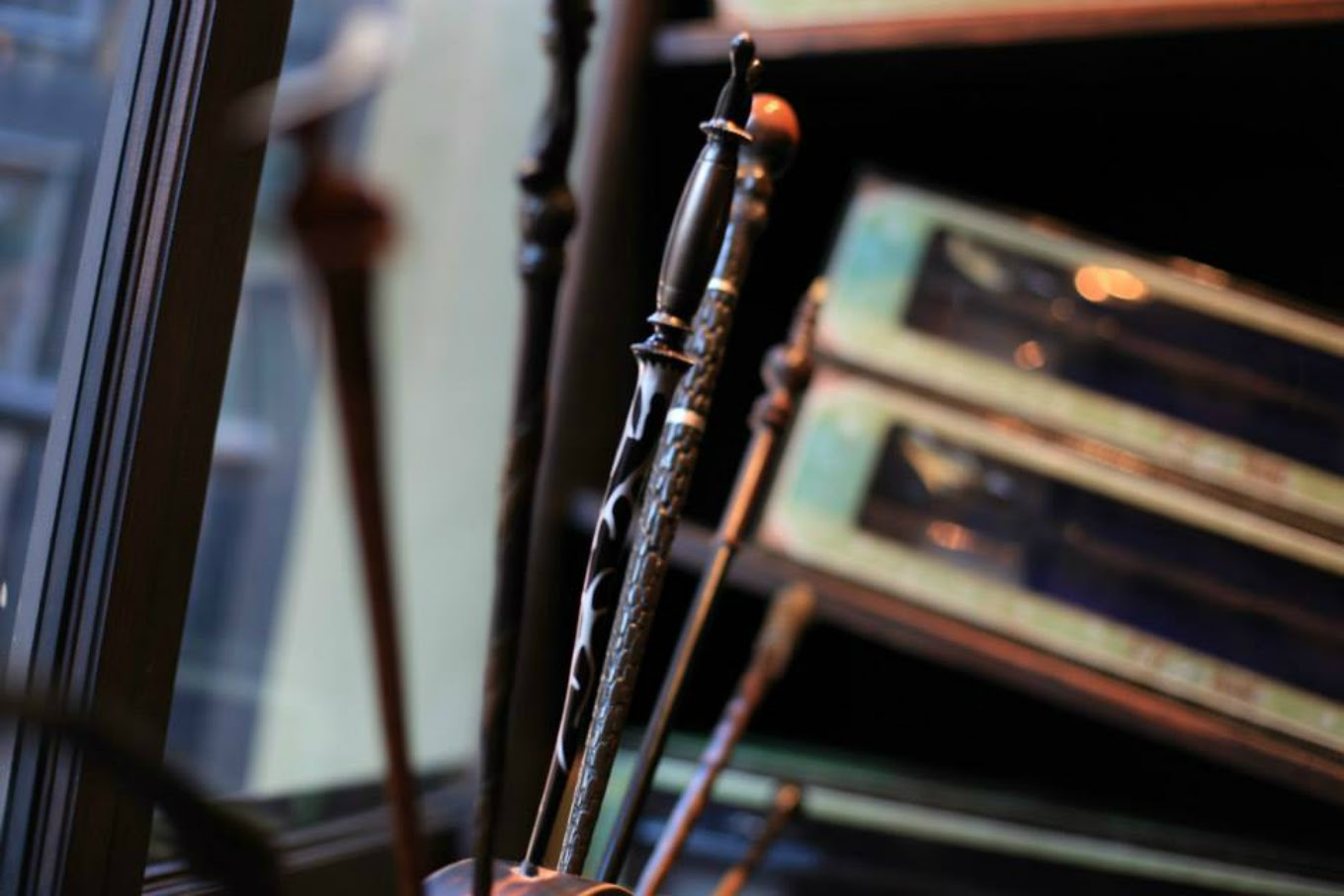 Interactive Wands-Ollivanders Wand Shop-Diagon Alley-Harry Potter Spells
