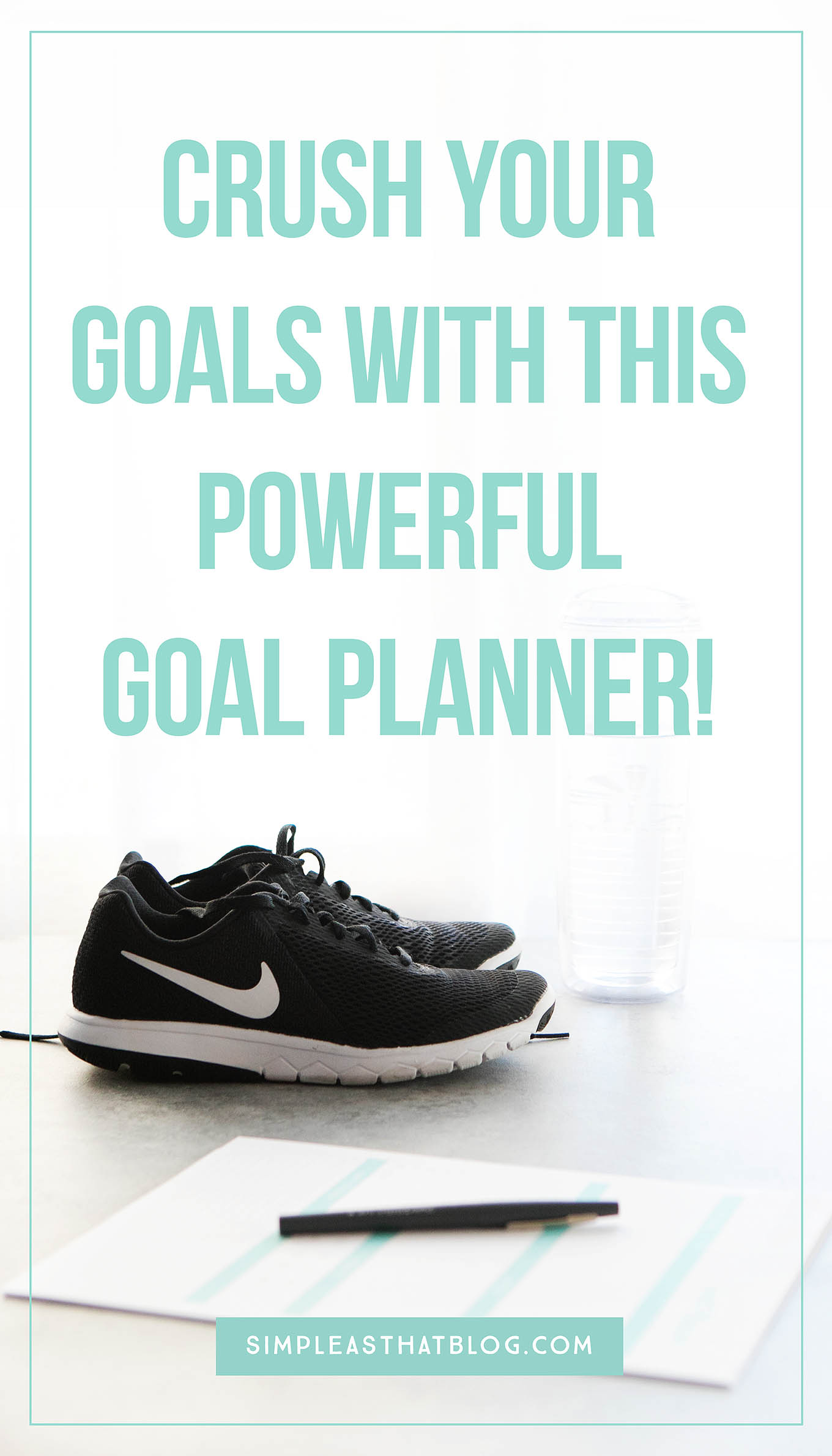 Get ready to crush your goals with this powerful goal planner! It's functional, concise and printer friendly. This is a tool that will help you move from setting goals to achieving them.
