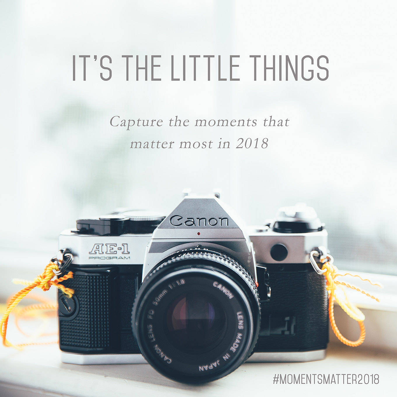 Photography has so much power to connect us to the beauty and joy in our lives that is often too easy to overlook. This year, I invite you to change that by joining in on a new, meaningful photo challenge.