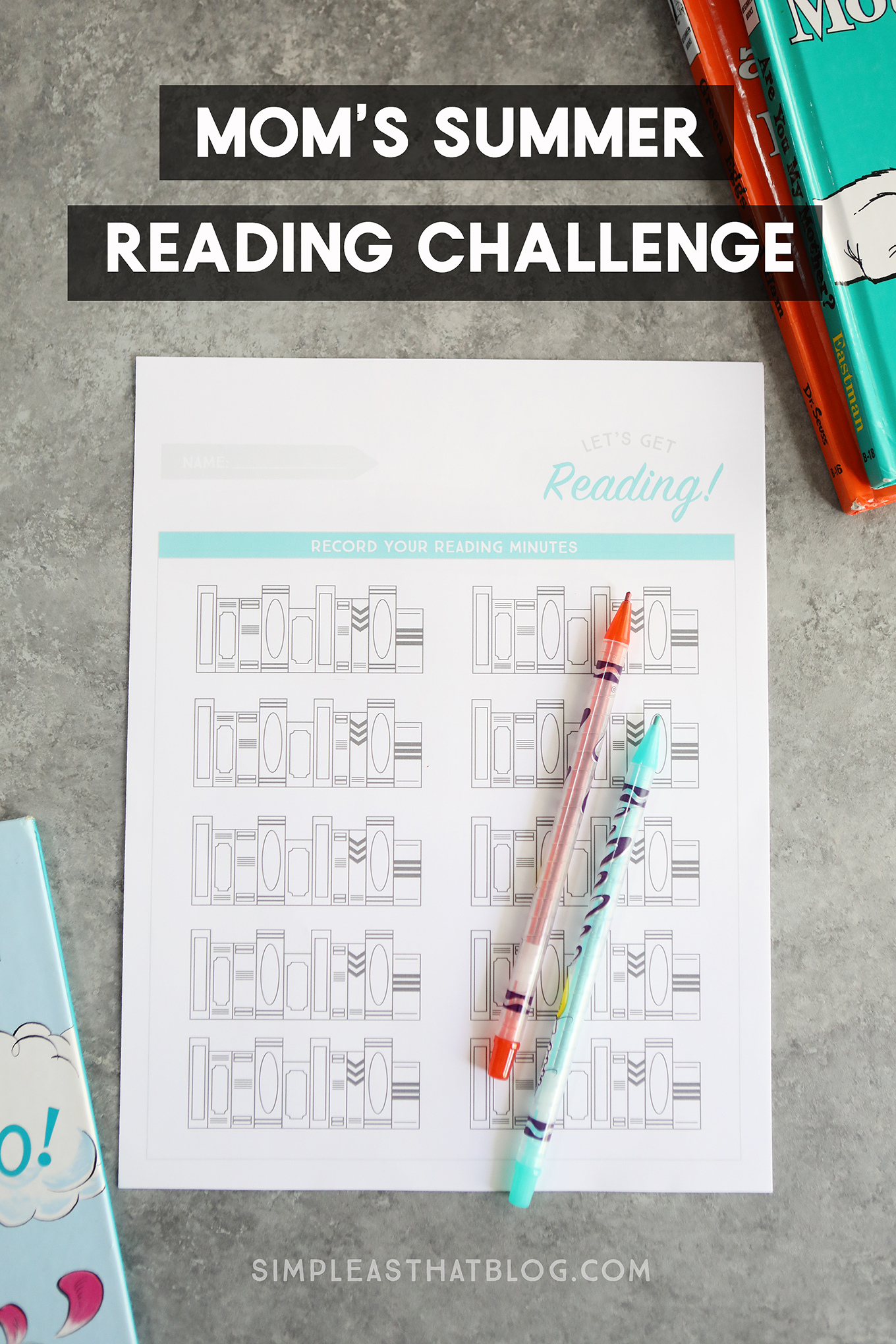 Mom\'s Summer Reading Challenge