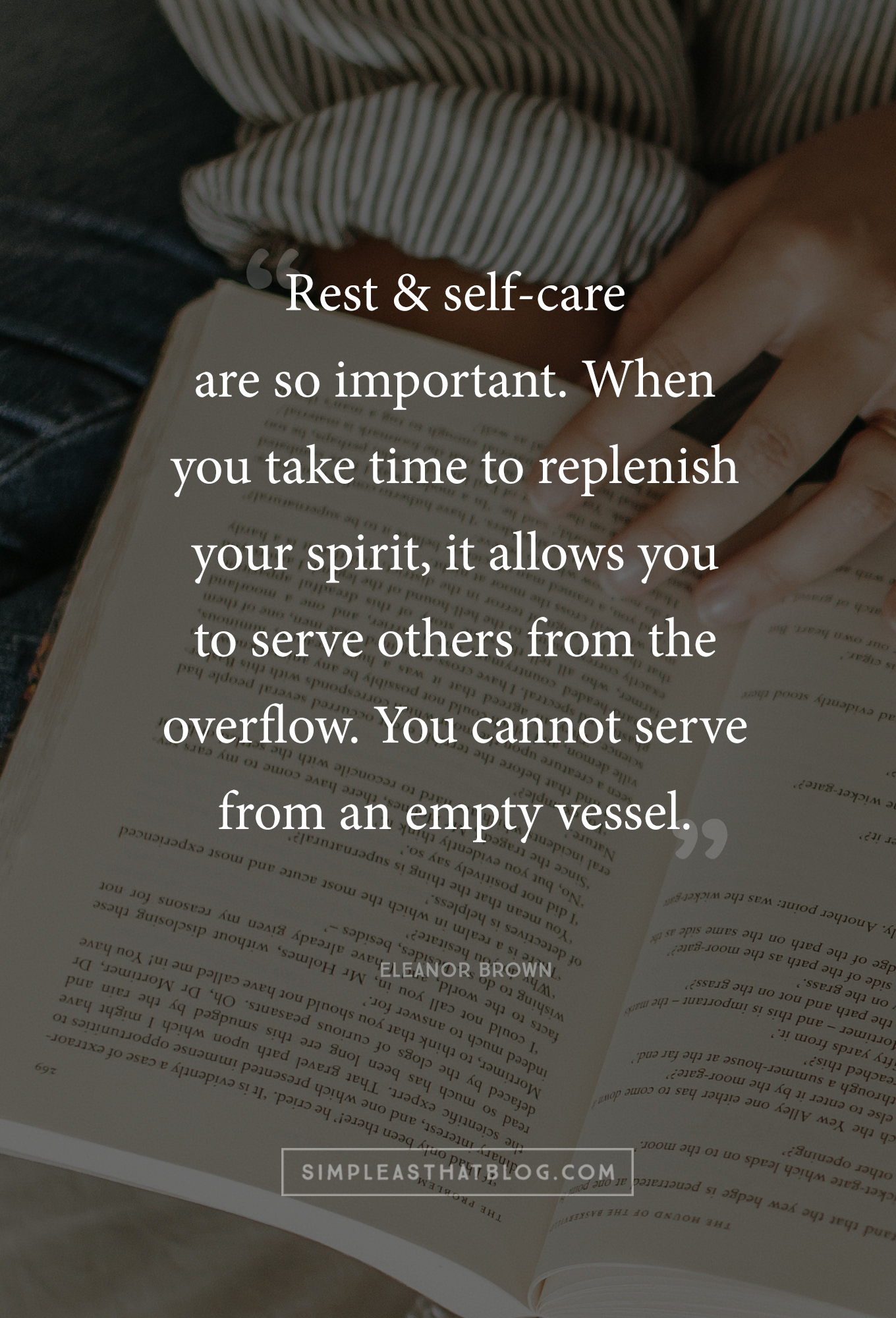 You deserve the same rest and care that you offer to everyone around you. But are you giving it to yourself? Self-care for moms who don't stop...